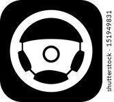 icon steering wheel | Shutterstock .eps vector #151949831