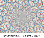 colorful digital graphic... | Shutterstock . vector #1519524074