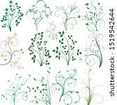 floral design vector... | Shutterstock .eps vector #1519542644