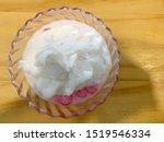 crispy ruby for coconut milk ... | Shutterstock . vector #1519546334