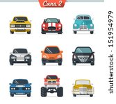 car icon set 2 | Shutterstock .eps vector #151954979