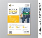 corporate construction tools... | Shutterstock .eps vector #1519587947