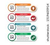 timeline infographics design...   Shutterstock .eps vector #1519605914