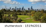 skyline view of the city of... | Shutterstock . vector #151962011