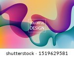 abstract colorful moving... | Shutterstock .eps vector #1519629581