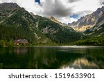 Poprad Lake With Hotel And...