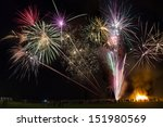 Fireworks Display. Guy Fawkes...