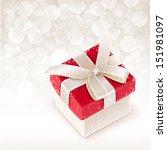 christmas box | Shutterstock .eps vector #151981097