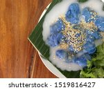 steamed tapioca balls filled... | Shutterstock . vector #1519816427