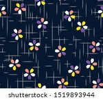 japanese small cherry blossom... | Shutterstock .eps vector #1519893944