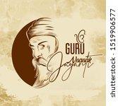 guru nanak jayanti  gurpurab ... | Shutterstock .eps vector #1519906577