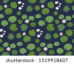 Seamless Pattern With Little...