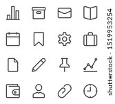 ui ux line icons set. linear...