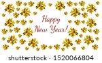 christmas card with copy space... | Shutterstock . vector #1520066804