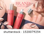 skincare product ads with lying ... | Shutterstock .eps vector #1520079254