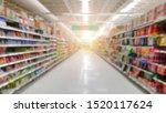 Blurred Image Of Supermarket...