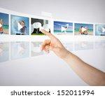 technology  internet  tv and... | Shutterstock . vector #152011994