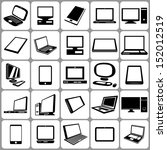 computers notebooks and tablets ... | Shutterstock .eps vector #152012519