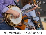 Banjo Player In A Band