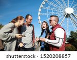 group of people happiness...   Shutterstock . vector #1520208857