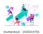 business vision. concept career ...   Shutterstock .eps vector #1520214701