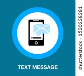 vector mobile icon with text... | Shutterstock .eps vector #1520238281
