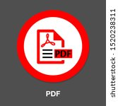 download pdf document icon  ... | Shutterstock .eps vector #1520238311