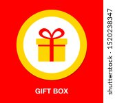 vector gift box illustration... | Shutterstock .eps vector #1520238347