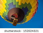 Colorful Hot Air Balloon Just...