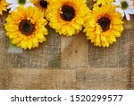 Sunflower Flowers. Decor With...