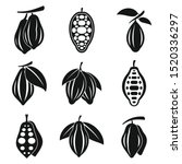 cocoa icons set. simple set of... | Shutterstock .eps vector #1520336297