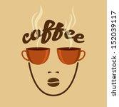 vintage coffee concept | Shutterstock .eps vector #152039117