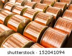 copper cable factory | Shutterstock . vector #152041094
