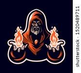 Wizard   Mage Esports Mascot...