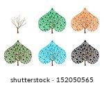 vector original abstract tree...