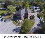Sherborn Town Hall Aerial View...