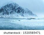 Unstad Beach Lofoten Islands ...