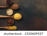 Various Organic Cereals And...