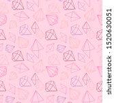vector illustration seamless... | Shutterstock .eps vector #1520630051