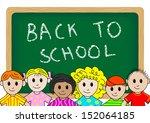 vector illustration of children ... | Shutterstock .eps vector #152064185