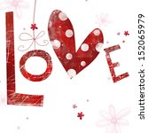 gentle romantic seamless... | Shutterstock . vector #152065979
