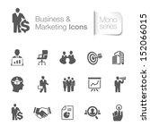 business   marketing related... | Shutterstock .eps vector #152066015