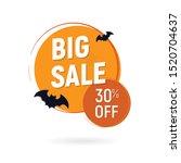 halloween sale banner special... | Shutterstock .eps vector #1520704637