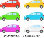 illustration of a car.... | Shutterstock .eps vector #1520818784