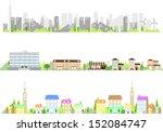 city | Shutterstock .eps vector #152084747