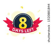 eight days left  sale countdown ...