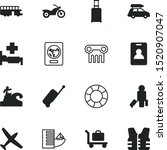 Vacancy Vector Icon Set Such A...