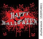 happy halloween poster... | Shutterstock .eps vector #1520914811