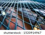 closeup  of  steel grating...   Shutterstock . vector #1520914967