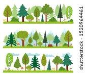 Forest Landscapes. Woodland...